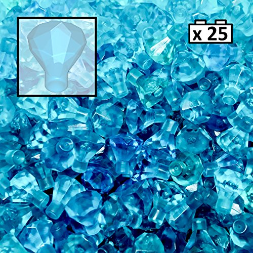LEGO Blue Gem Jewel x 25 30153 from LEGO