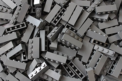 LEGO Bricks: Dark Grey 1x4. Part 3010 (X 50) from LEGO