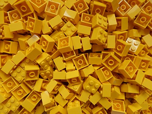 LEGO Bricks: Yellow 2x2. Part 3003 (X 50) from LEGO