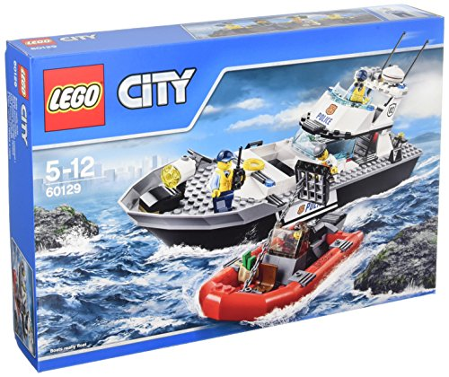 LEGO 60129 City Police Patrol Boat Building Toy from LEGO
