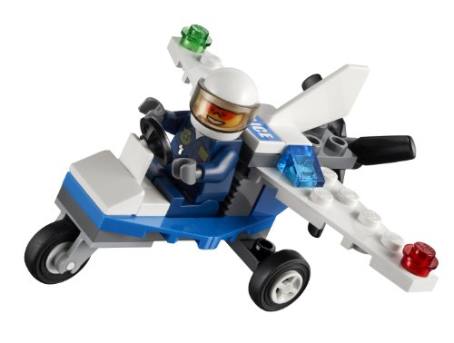 LEGO City: Police Plane Set 30018 (Bagged) from LEGO