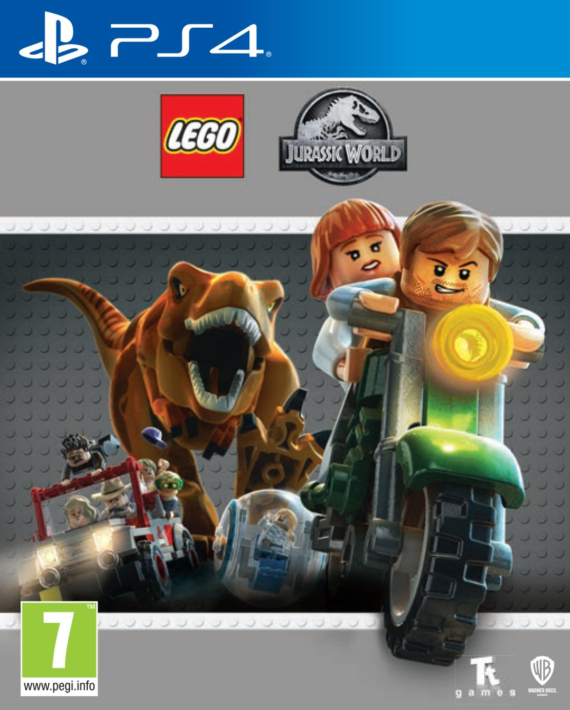 LEGO - Jurassic World - PS4 Game from LEGO