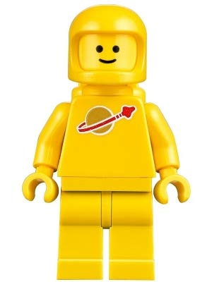 LEGO Movie 2 Yellow Classic Spaceman Kenny Minifigure Split from 70841 Set (Bagged) from LEGO