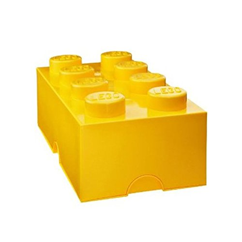 Lego Lunch/Storage Box Yellow from LEGO