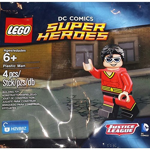 DC Comics Super Heroes - Plastic Man - Lego Mini Figure from LEGO
