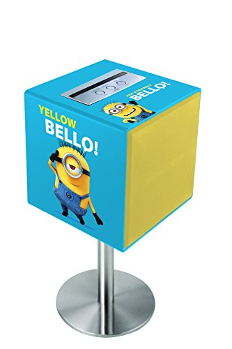 Lexibook Universal Despicable Me Minions Sound Cube, 100W, AUX-IN jack, Bluetoot, removable stand, Blue/Yellow, BTC100DES. from LEXIBOOK