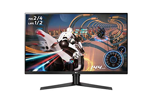 LG UltraGear 32GK850F 31.5-inch  Monitor- 16:9 QHD 2560x1440 144Hz, AMD Radeon FreeSync 2, VESA DisplayHDR 400 from LG Electronics