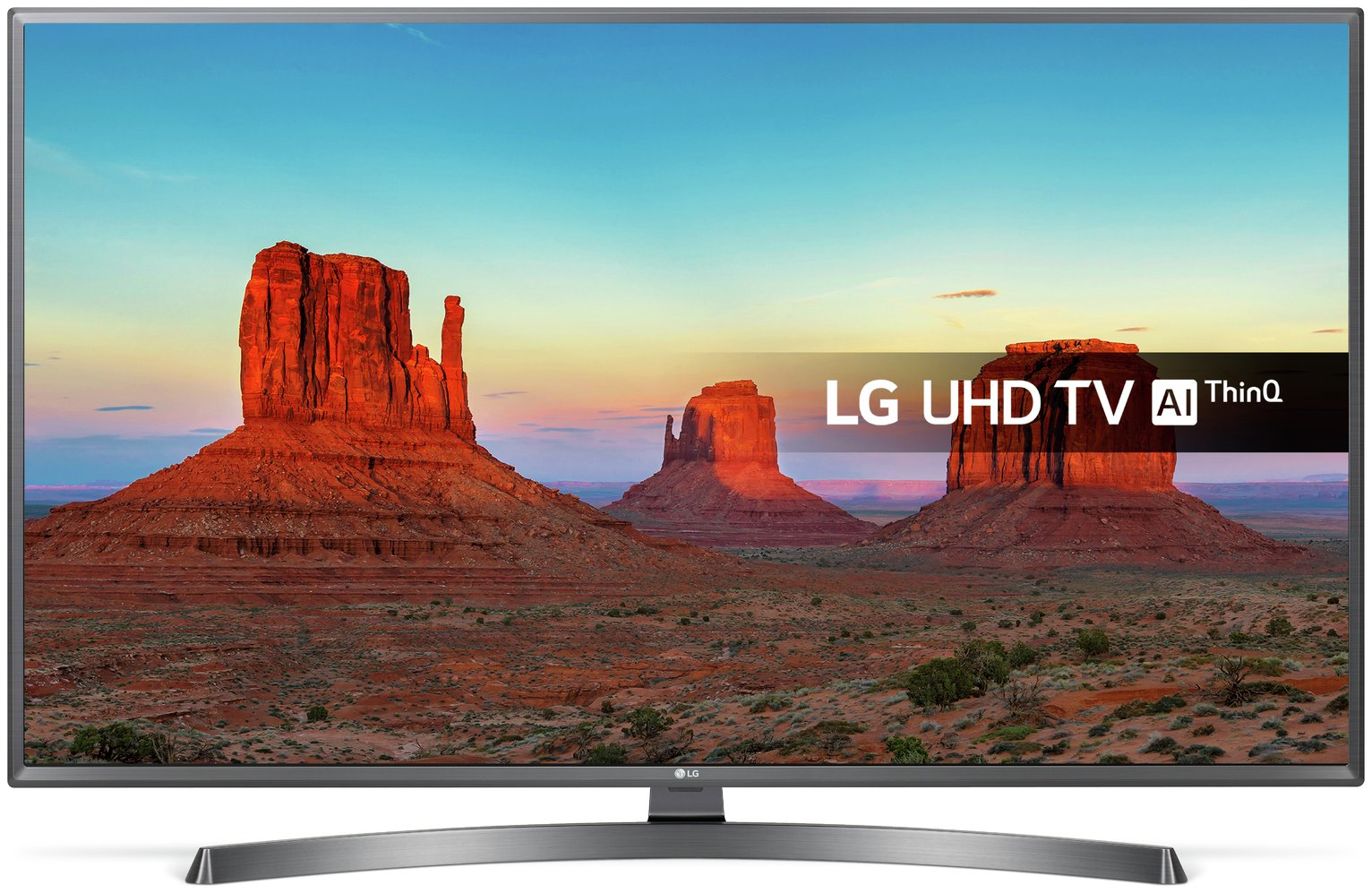 LG 43 Inch 43UK6750PLD Smart Ultra HD TV with HDR from LG