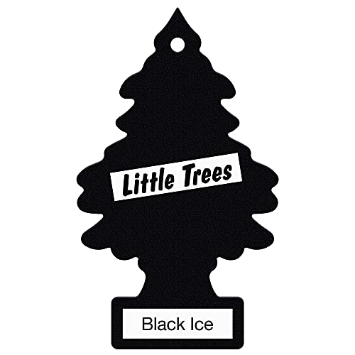 Little Trees MTZ04 Air Fresheners Black Ice, 6 Pieces from Little Trees