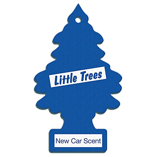 Air Freshener - LITTLE TREES 'Tree' - 'New Car' Fragrance MTZ02 - For Car And Home - 6 Pack from LITTLE TREE