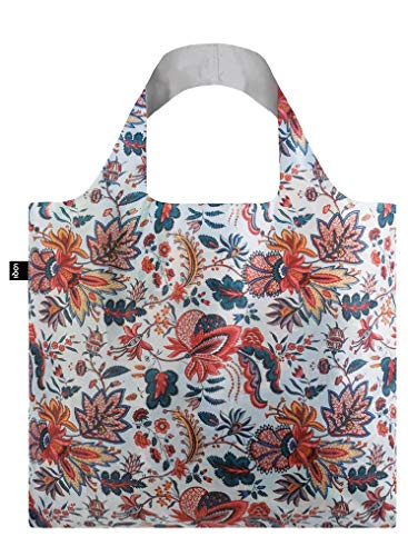 LOQI MAD Indian Bag Travel Tote, 50 cm, 15 liters, Multicolour (Indian) from LOQI