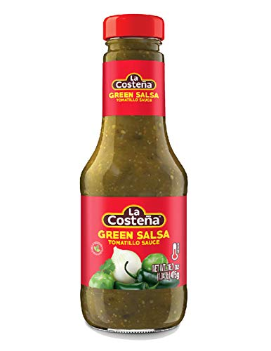 La Costena Green Mexican Salsa Medium 475g - 1 pack from La Costena