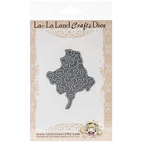 La-La Land Crafts 3-Inch x 2.5-Inch Cherry Blossom Branch Die from La-La Land Crafts