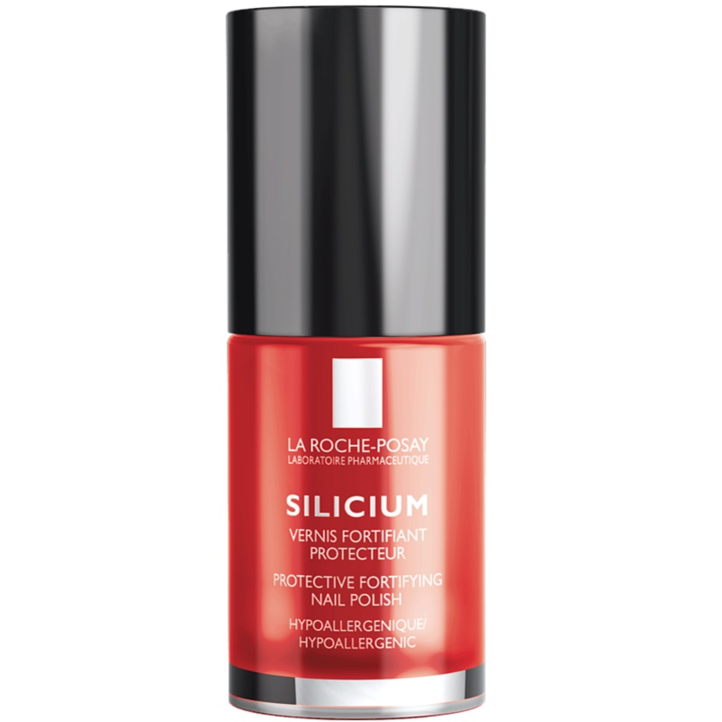La Roche-Posay Silicium Color Care Nail Polish Shade 24 Perfect Red 6 ml from La Roche-Posay