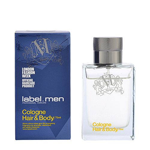label.men by label.m Cologne Hair and Body 75ml from LABEL M