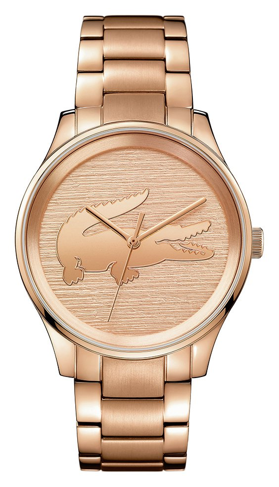 Lacoste Ladies' Victoria Rose Gold Plated Bracelet Watch from Lacoste