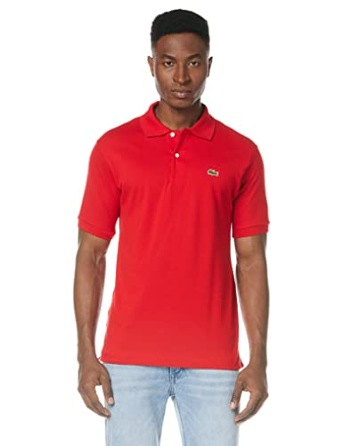 Lacoste Men's L1212-00 Original Short Sleeve Polo Shirt, Red (Rouge), 4XL (Manufacture Size: 9) from Lacoste