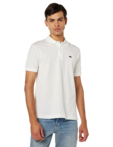 Lacoste Men's L1212 Original Polo Shirt, Blanc (Blanc), Medium from Lacoste