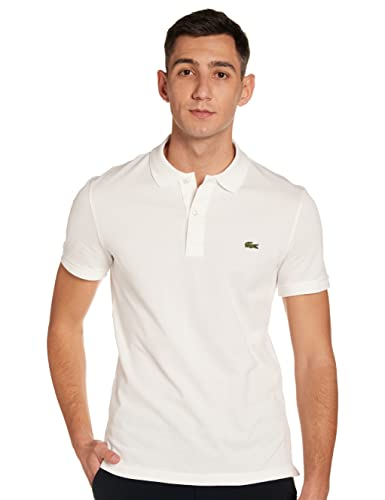 Lacoste Ph4012 - Polo Shirt - Men's, White (White), X-Small (Size Manufacturer: 2) from Lacoste