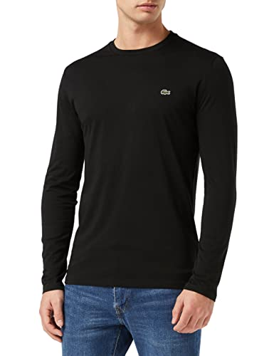 Lacoste Men's TH6712 T-Shirt, Black (Noir), X-Small (Size: 2) from Lacoste
