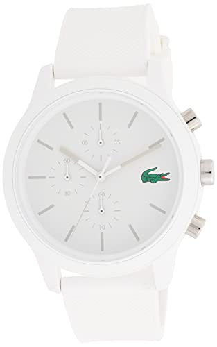 Lacoste Mens Chronograph Quartz Watch with Silicone Strap 2010974 from Lacoste
