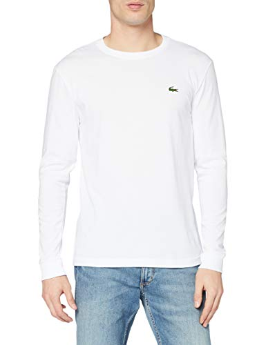 Lacoste Sport Men's TH0123 T-Shirt, White (Blanc), XXL from Lacoste