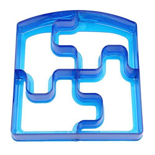 Lalang Children Sandwich Cutter, Cookie Cutter, Bread Cutter Set Random Color (Puzzle) from LALANG
