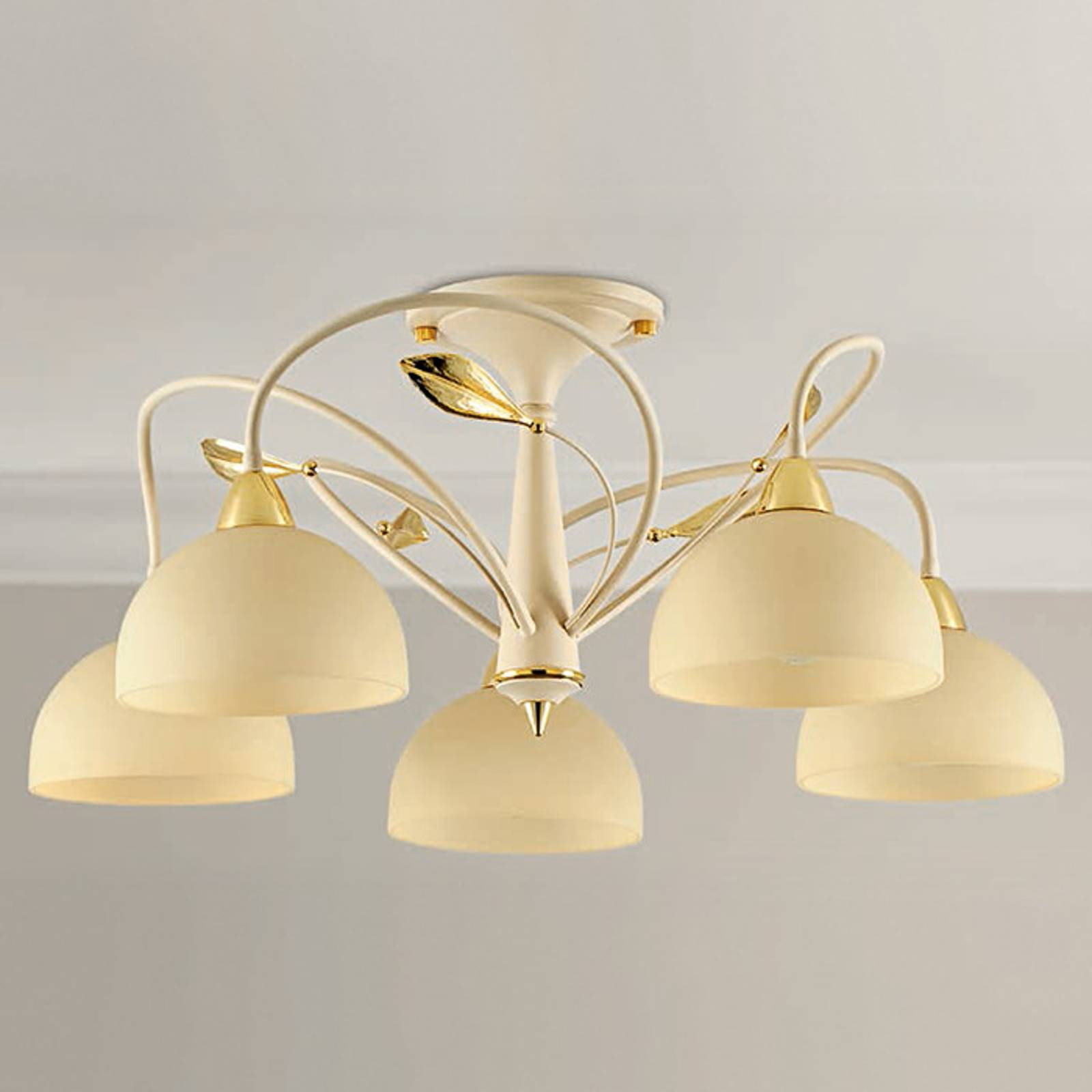 Semi-flush ceiling light Paolina from LAM
