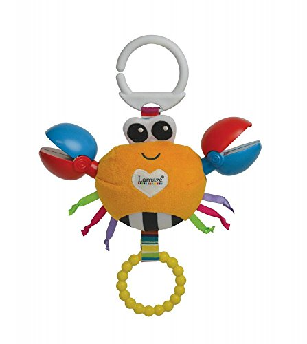 Lamaze Clackety Claude Clip On Pram and Pushchair Baby Toy from Lamaze