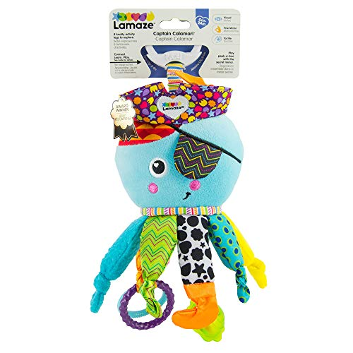 Lamaze Captain Calamari Clip On Pram and Pushchair Baby Toy from Lamaze