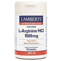 Lamberts L-Arginine 1000mg 90 tablets from Lamberts