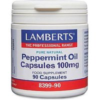 Lamberts Peppermint Oil Capsules 90 capsules from Lamberts