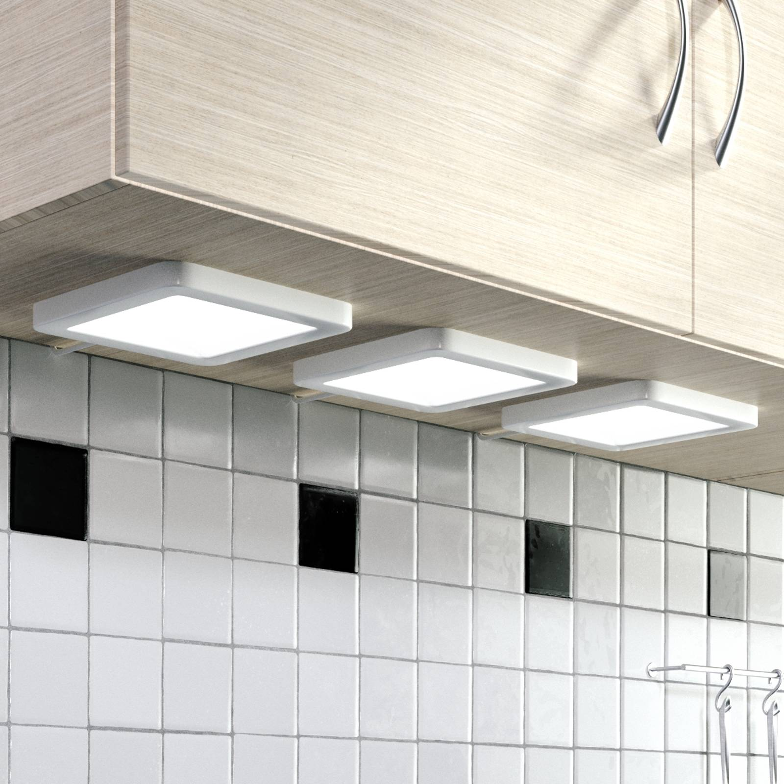 Antony LED under-cabinet light, set of 3 from Lindby