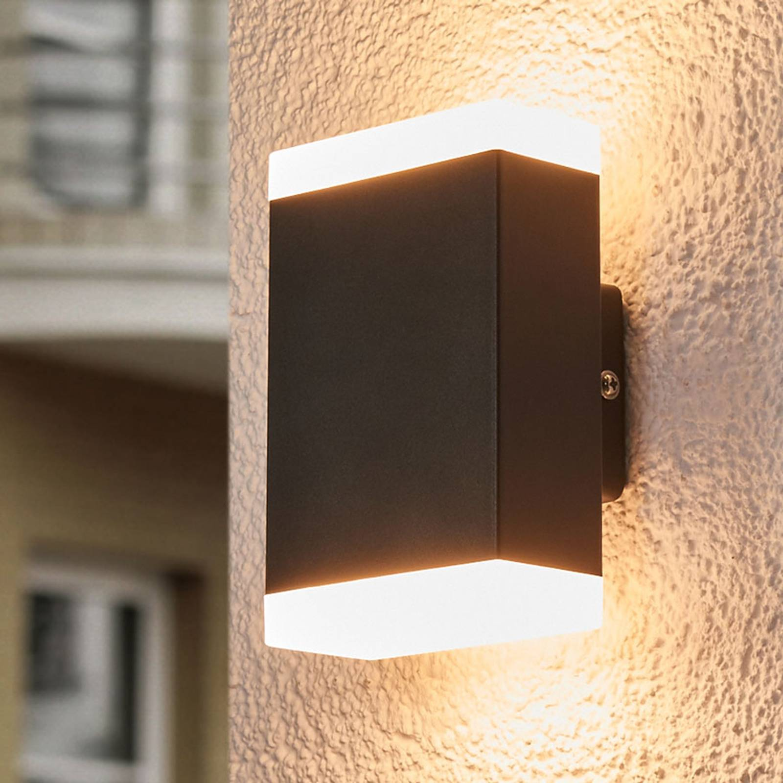 Timeless LED wall light Aya for outdoors - IP44 from Lampenwelt.com