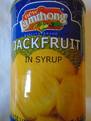 Lamthong Ripe Jackfruit in Syrup 2x565g from Lamthong