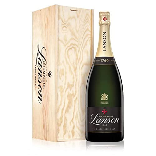 Lanson Black Label Magnum in Wooden Box NV 150 cl from Lanson Champagne