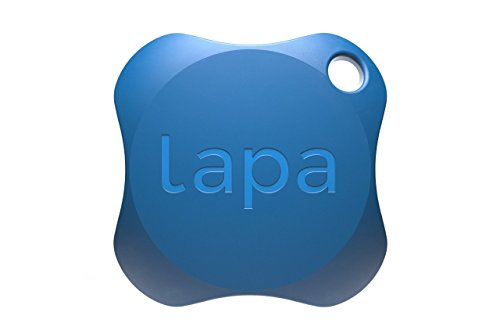Lapa 2 Bluetooth Tracker - Find Keys, Wallet, Bag, Pets, and even your Smartphone (1-Pack, Blue) from P.L.A.