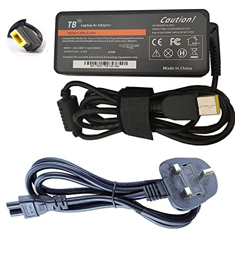 Laptop Charger for Lenovo Yoga 300-11IBR V110 V110-15ISK Compatible Replacement Notebook Adapter Adaptor Power Supply from Lenovo