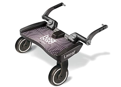 Lascal Maxi BuggyBoard, Compatible with 99% of Pushchairs, Black from Lascal