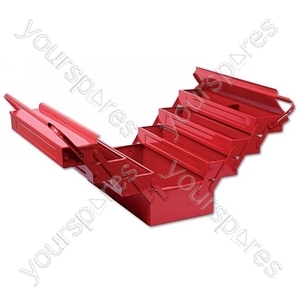 7 Tray Tool Box - 21in./530mm from Laser