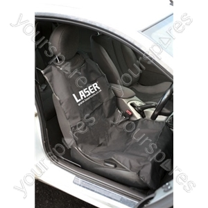 Front Seat Protector - Black - Single from Laser