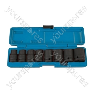 Impact Socket Set - 1/2in.D - 8 Piece - Various from Laser