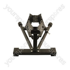 Motorcycle Stand and Wheel Chock - 110-130mm x 400-450mm from Laser