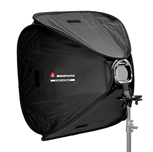 Lastolite 38x38cm Ezybox Hotshoe Softbox with Bracket from Lastolite by Manfrotto