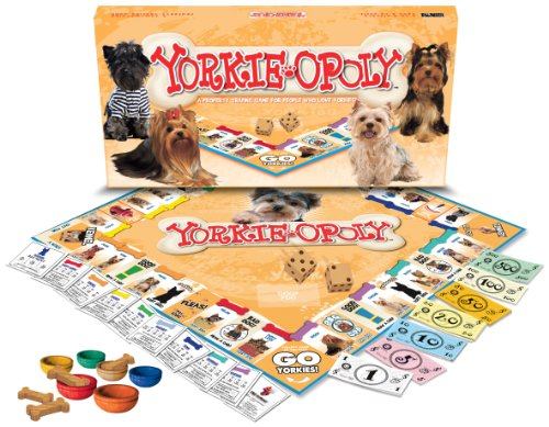 Yorkie-Opoly from Late for the Sky