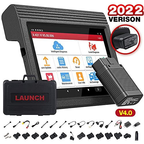 Launch X431 V/x431 Pro Wifi/bluetooth Tablet Full System Diagnostic Tool +2 Years Free Online One-click Update + Deliver From UK Warehouse in EU from Launch