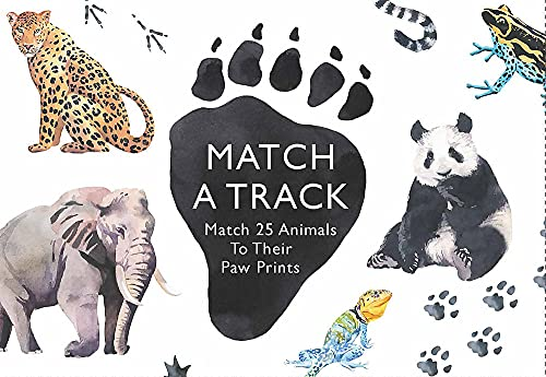 Match a Track: Match 25 Animals to Their Paw Prints (Magma for Laurence King) from Laurence