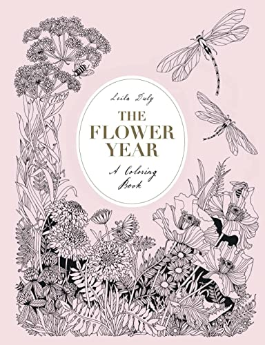 The Flower Year: A Colouring Book from Laurence