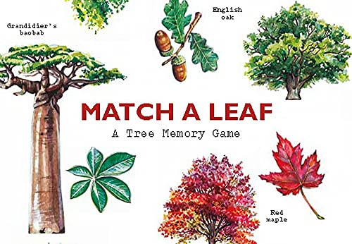 Match a Leaf: A Tree Memory Game: 1 (Games) from Laurence