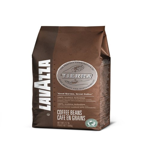 Lavazza Coffee Espresso Tierra Intenso, Whole Beans, Pack of 6, 6 x 1000g from Lavazza
